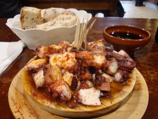 gastronomia-en-el-Camino-de-santiago-pulpo