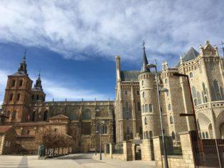 Palas episcopal de gaudi