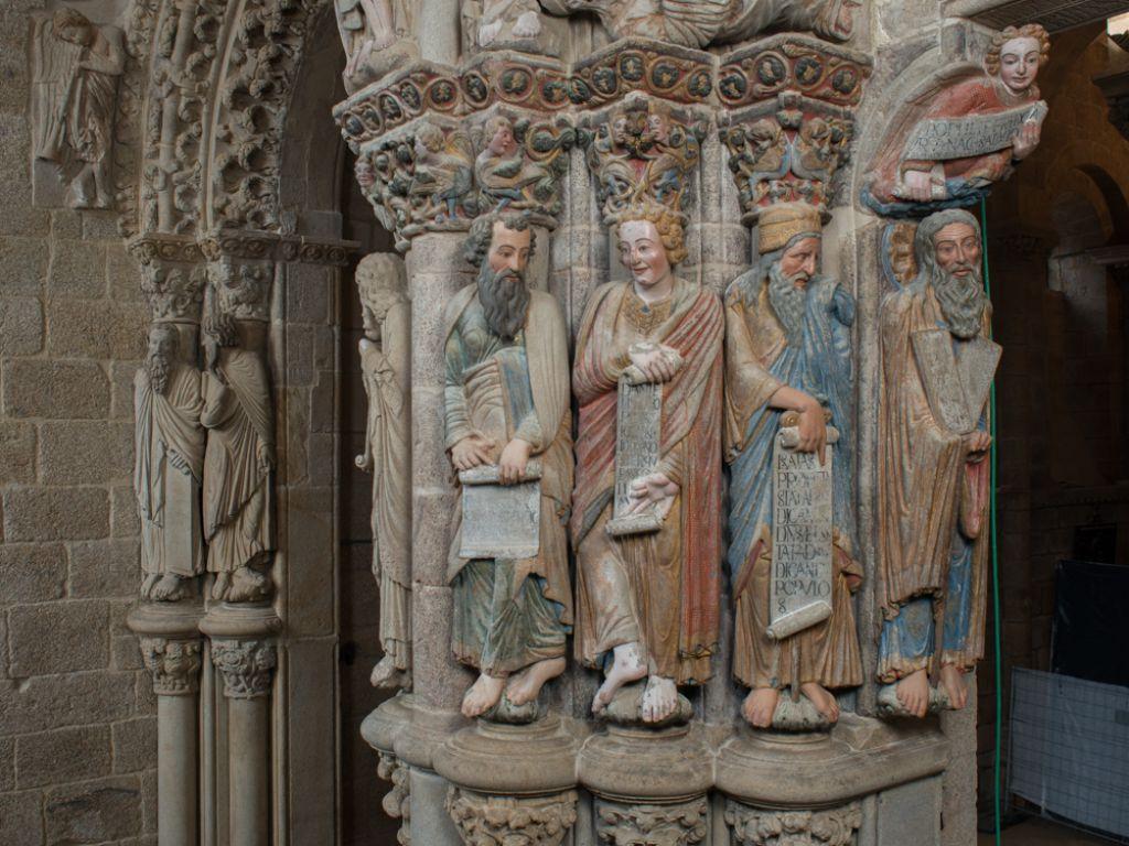 Portico de la gloria catedral santiago de compostela