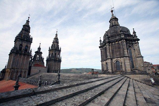 Cubiertas Catedral Santiago