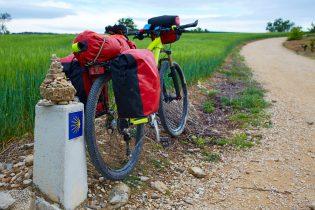 Camino de Santiago en bici desde Oviedo